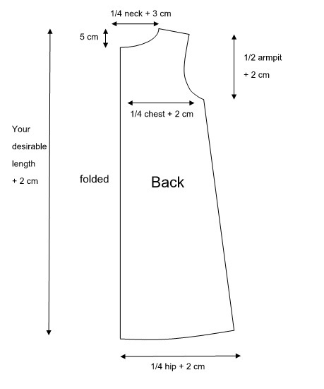 tunic sewing pattern free