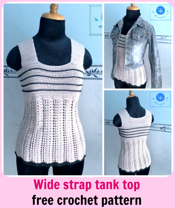 crochet women tank top