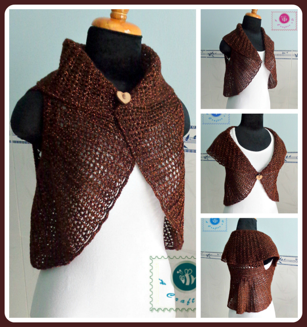 crochet versatile circle vest