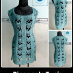 Crochet Pineapple Tunic