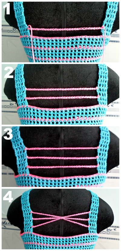 crochet summer tank top