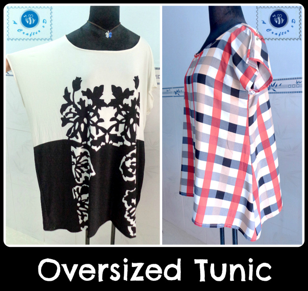 oversized tunic free sewing pattern