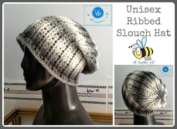 crochet men's slouch hat