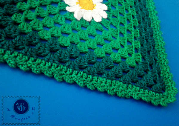 crochet blanket edging