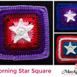 Crochet Morning star square