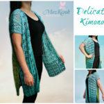 Crochet Delicate Kimono
