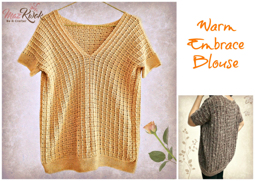 Crochet Warm Embrace blouse